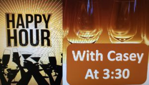 Happy Hour with Casey Jones Costello @ Card Room